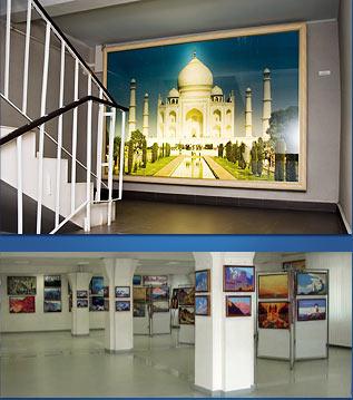 Культурный центр картины