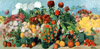 Saryan M. Autumn Flowers and Fruits. Art print on canvas