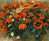Saryan M. Poppies. Art print on canvas