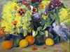 Saryan M. Still life. Art print on canvas