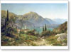 Velts Ivan. View of Northern Italy. Fine art print A4