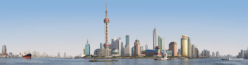 Shanghai. Bookmark 5х20 сm