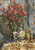 Petrovichev Pyotr. Roses. Art print on canvas