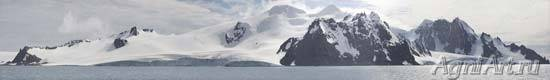 Antarctica. The Antarctic Peninsula.