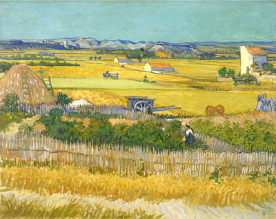 Gogh Vincent Van  . The harvest. Fine art print B3