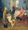 Reshetnikov F. Again deuce. Art print on canvas