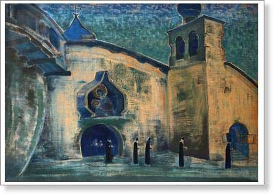 Roerich Nicholas. And We are Bringing the Light. Fine art print B2