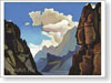 Roerich Nicholas. Great Spirit of the Himalayas. Fine art print B2