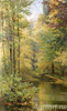 Miasoyedov Grigory. Pond in a wood. Fine art print B2