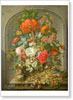 Waerdigh Dominicus Gottfried. Flowers and Fruit. Fine art print B3