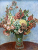 Renoir Pierre. Flowers in a vase. Fine art print A3