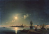 Aivazovsky Ivan. Night in Venice. Fine art postcard A6