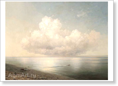 Aivazovsky Ivan. Group of Clouds. Art print on canvas