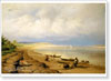 Vasiliyev Fyodor. Volga Bank after a Storm. Fine art print B2