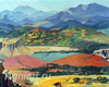 Armenia. 1957. Art print on canvas