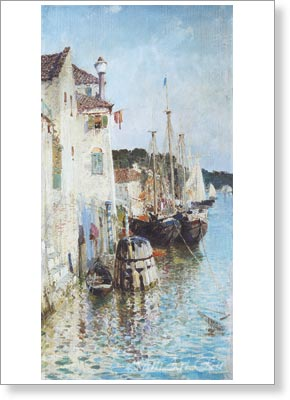 Polenov Vasily. Venice. Art print on canvas - paintings, sale