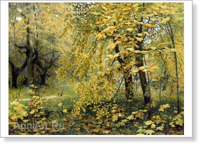 Ostroukhov Ilya. Golden Autumn. Fine art print B2