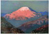 Kuinji Arkhip. Kazbek. Art print on canvas