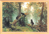 Art exhibition. Painting of Ivan Shishkin