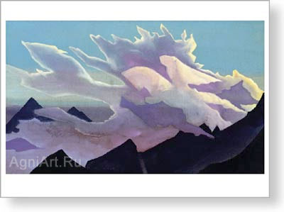 Roerich Nicholas. Warrior of Light. Fine art print A3