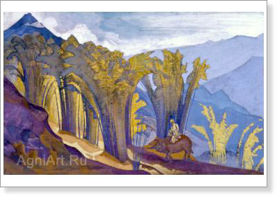 Roerich Nicholas. Lao Dze. Art print on canvas