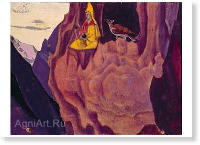 Roerich Nicholas. Tidings of the Eagle. Art print on canvas