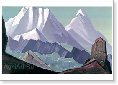 Roerich Nicholas. Maitreya. Art print on canvas