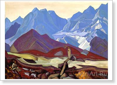 Roerich Nicholas. From Beyond. Fine art print A3