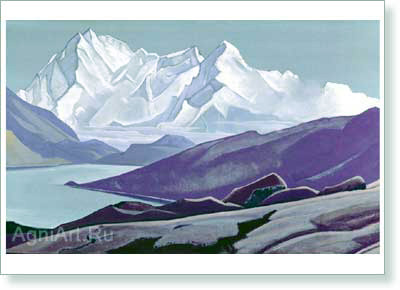 Roerich Nicholas. Sacred Himalayas. Art print on canvas