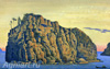 Roerich Nicholas. Holy Island. Art print on canvas