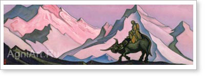 Roerich Nicholas. Lao-tzu. Art print on canvas
