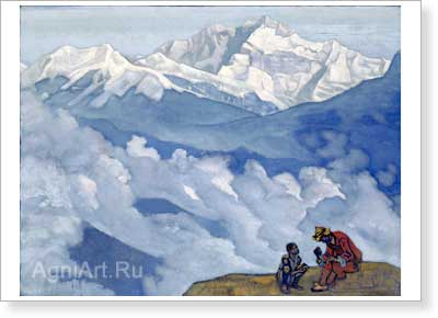 Roerich Nicholas. Pearl of Searching. Art print on canvas