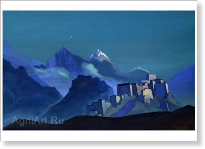 Roerich Nicholas. Star of the Morning. Fine art print A3