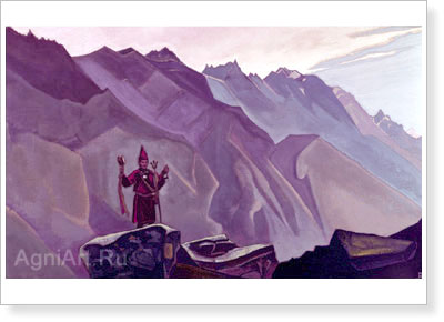 Roerich Nicholas. Hill of Tara. Art print on canvas