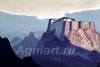 Roerich Nicholas. Mountain Abode. Art print on canvas