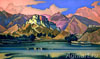 Roerich Nicholas. Lhasa. Art print on canvas