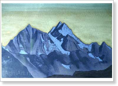 Roerich Nicholas. Path to Kailas. Art print on canvas