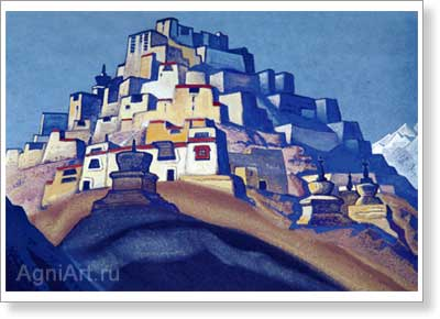 Roerich Nicholas. Island of Rest. Art print on canvas