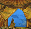 Roerich Nicholas. Lord of the Night. Art print on canvas
