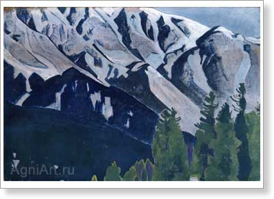 Roerich Nicholas. Pir Panjal. Art print on canvas