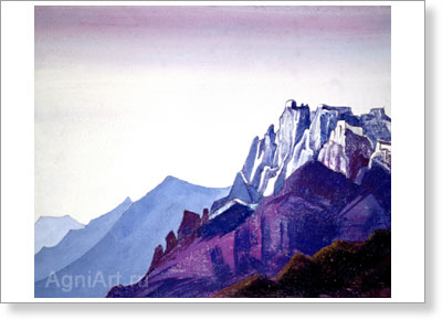 Roerich Nicholas. Ladakh. Art print on canvas