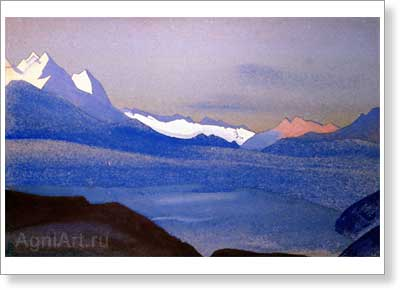 Roerich Nicholas. Kashmir. Art print on canvas