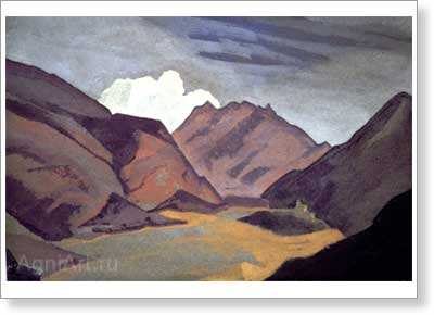 Roerich Nicholas. Baltistan. Border with Ladakh. Art print on canvas