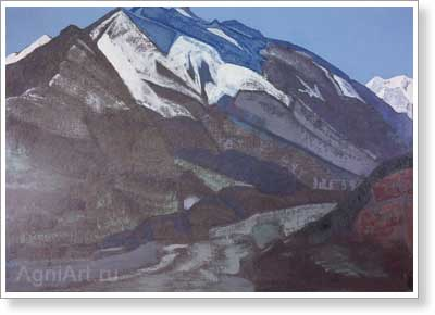 Roerich Nicholas. Guga Chohan. Art print on canvas