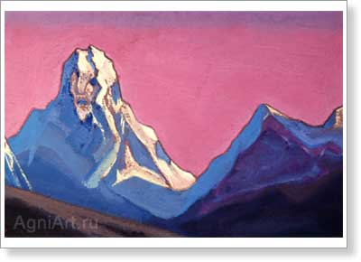 Roerich Nicholas. Giant. Art print on canvas