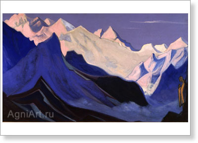 Roerich Nicholas. Lahool. Art print on canvas