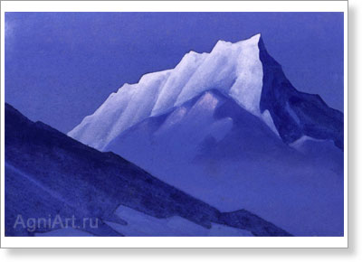 Roerich Nicholas. Mountain. Study. Art print on canvas