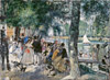 "Renoir Pierre. Bathing on the Seine (""La Grenouillere""). Fine art print B2"
