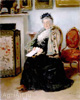 Makovsky Vladimir. Mistress. Art print on canvas