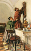 Makovsky Vladimir. New time. Art print on canvas